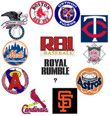 R.B.I. Baseball Royal Rumble nintendo nes