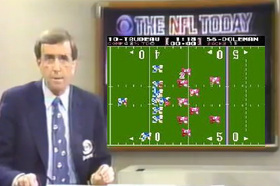 Brent Musburger cbs nfl today tecmo bowl